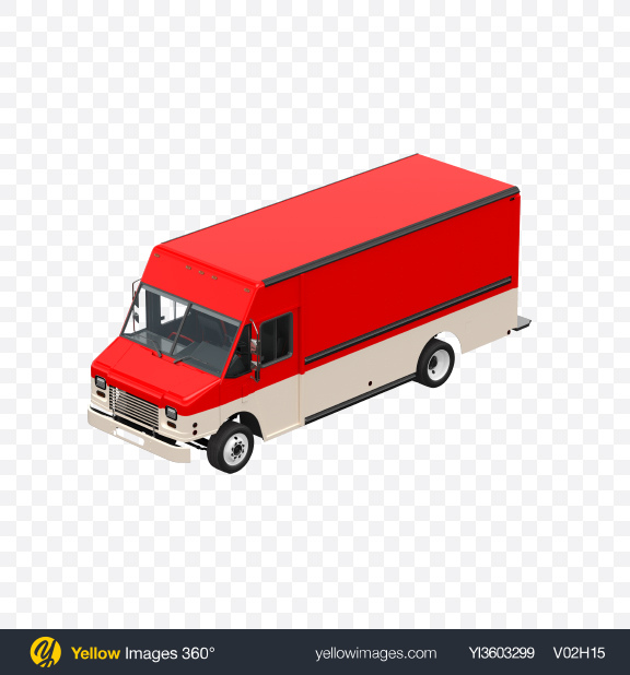 Download Red & White Food Truck Transparent PNG on Yellow Images 360°