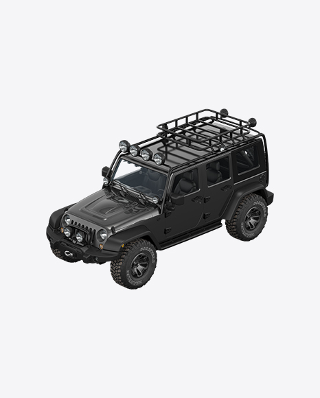 Black Off-Road SUV