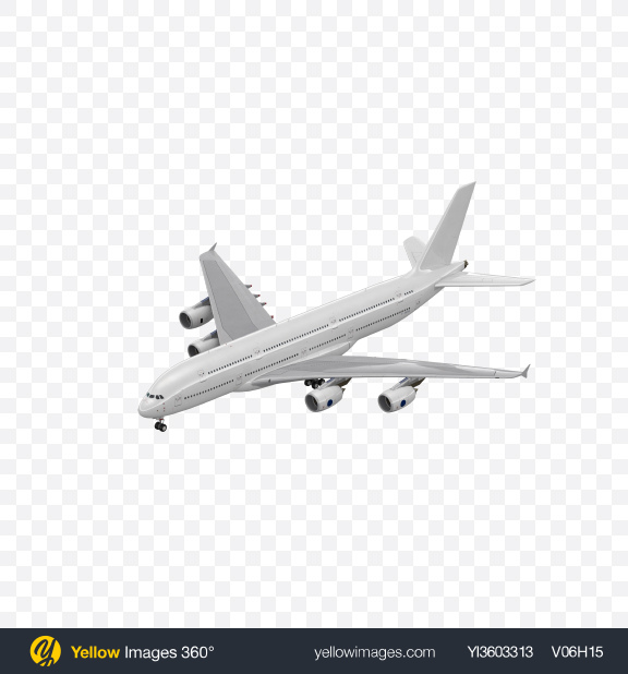 Download Aircraft Transparent PNG on Yellow Images 360°