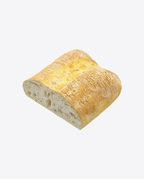 Half of Ciabatta Bread