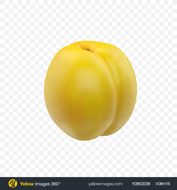 Download Yellow Nectarine Transparent PNG on Yellow Images 360°