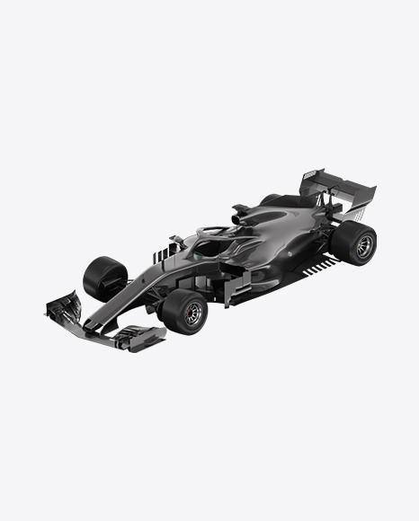 Black Racing Bolid