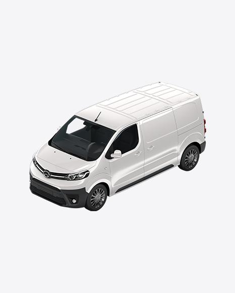 White Panel Van