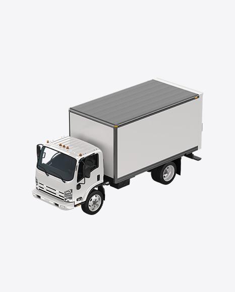 White Duty Truck