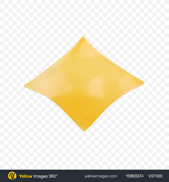 Download Cheese Slice Transparent PNG on Yellow Images 360°