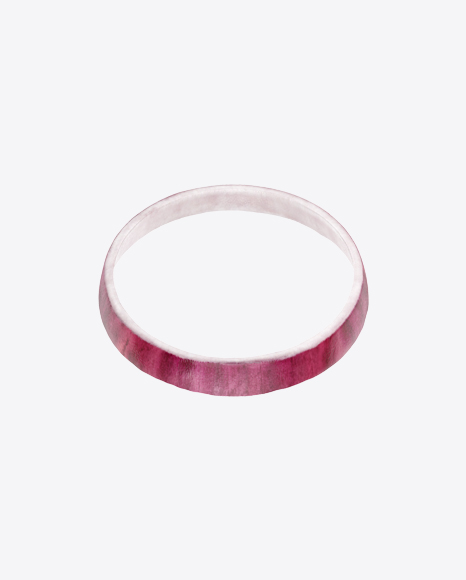 Red Onion Slice Ring