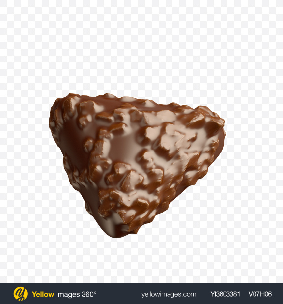 Download Triangle Chocolate Candy Transparent PNG on Yellow Images 360°