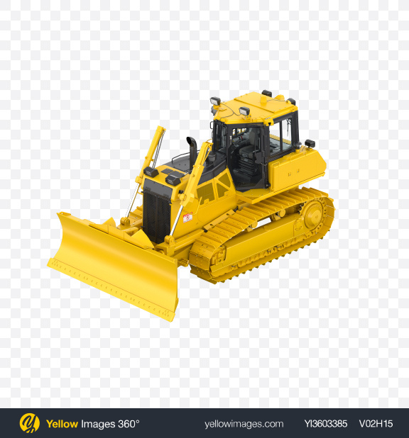 Download Crawler Dozer Transparent PNG on Yellow Images 360°
