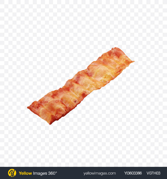 Download Bacon Slice Transparent PNG on Yellow Images 360°