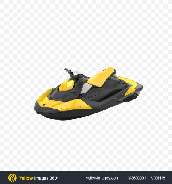 Download Yellow Jet Ski Transparent PNG on Yellow Images 360°