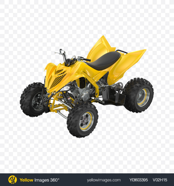 Download Yellow Quad Bike Transparent PNG on Yellow Images 360°