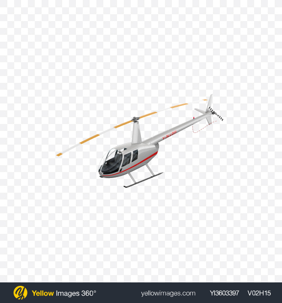 Download White Light Helicopter Transparent PNG on Yellow Images 360°