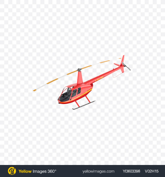 Download Red Light Helicopter Transparent PNG on Yellow Images 360°