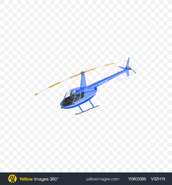 Download Blue Light Helicopter Transparent PNG on Yellow Images 360°