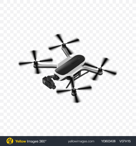 Download Quadcopter with Camera Transparent PNG on Yellow Images 360°
