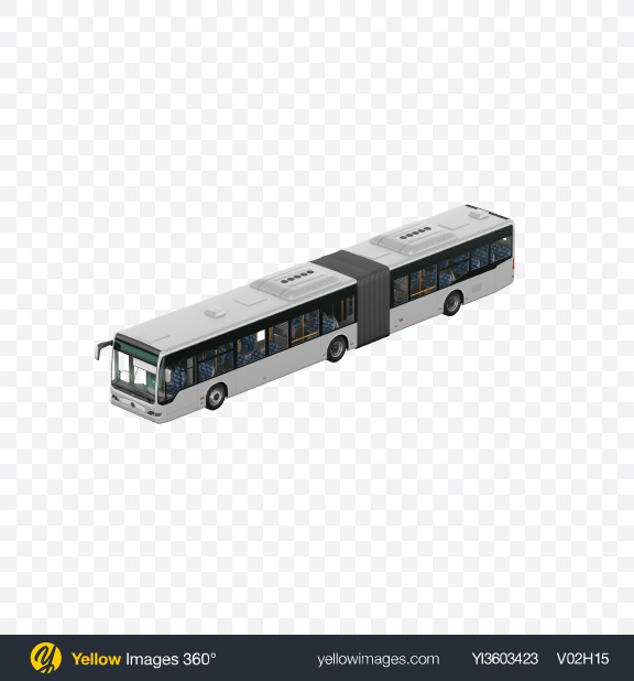 Download White Bus Transparent PNG on Yellow Images 360°
