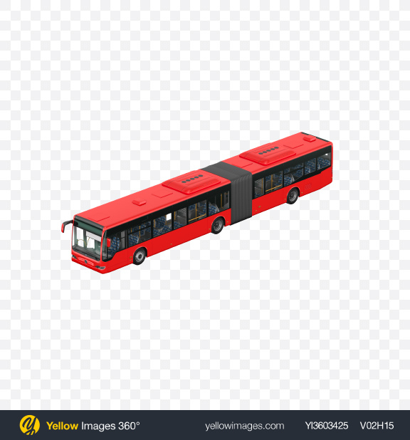 Download Red Bus Transparent PNG on Yellow Images 360°