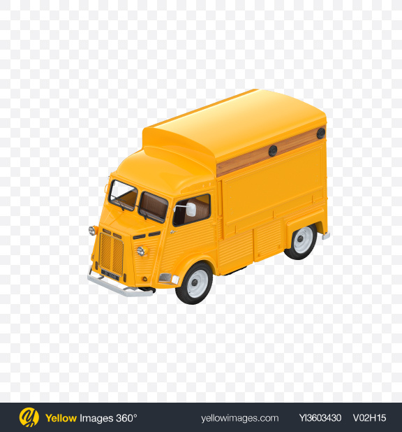 Download Yellow Food Truck Transparent PNG on Yellow Images 360°