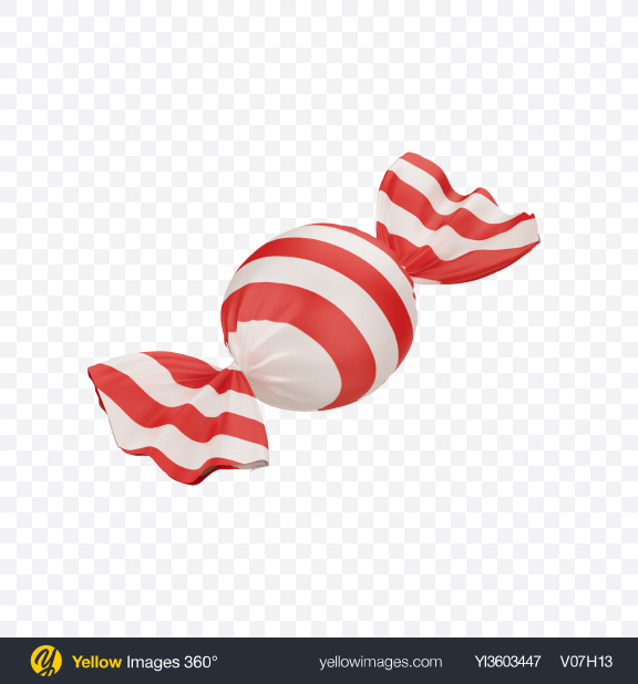 Download Red and White Candy Transparent PNG on Yellow Images 360°