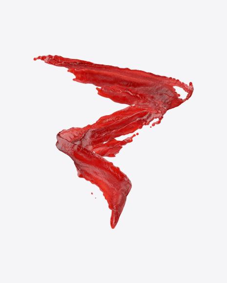 PNG Ketchup Splash