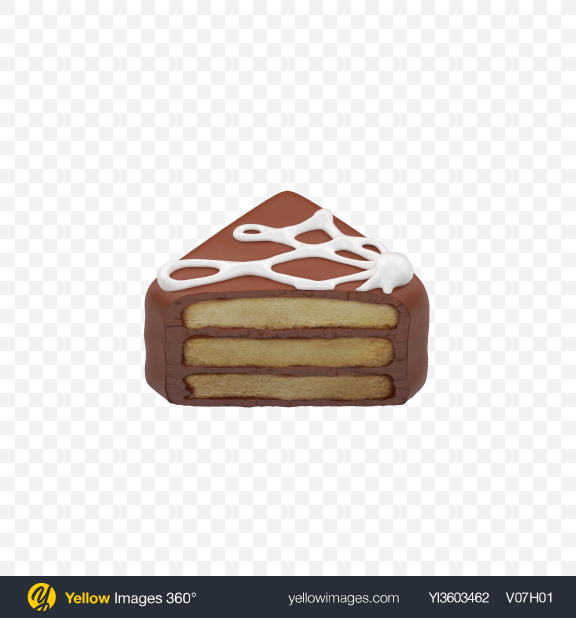 Download Half of Petit Four Transparent PNG on Yellow Images 360°