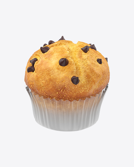 Muffin with Chocolate Bits