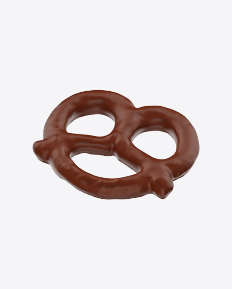 Chocolate Glazed Mini Pretzel