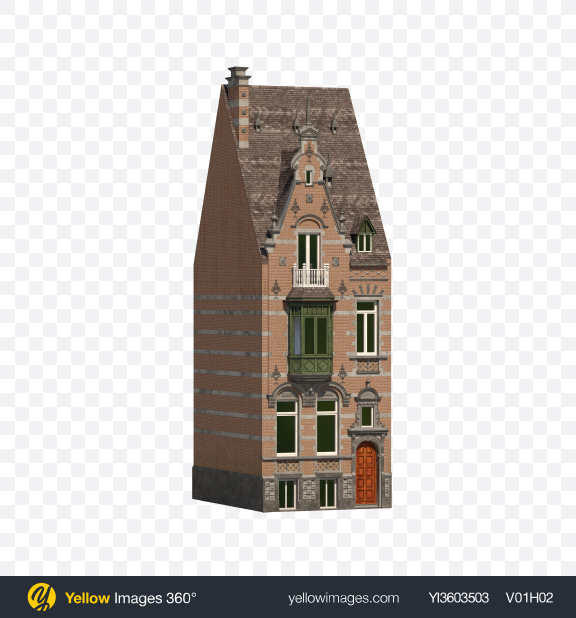 Download Dutch Building Transparent PNG on YELLOW Images