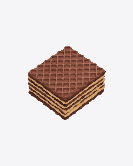Square Chocolate Wafer