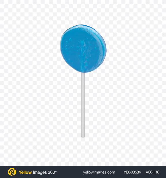 Download Blue Lollipop Transparent PNG on YELLOW Images