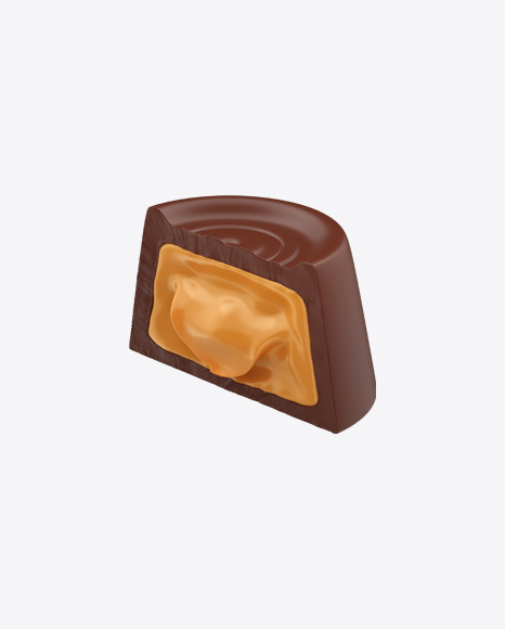 Half of Chocolate Candy