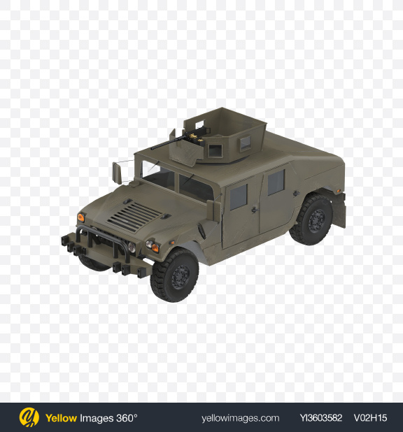 Download Military Vehicle Transparent PNG on Yellow Images 360°