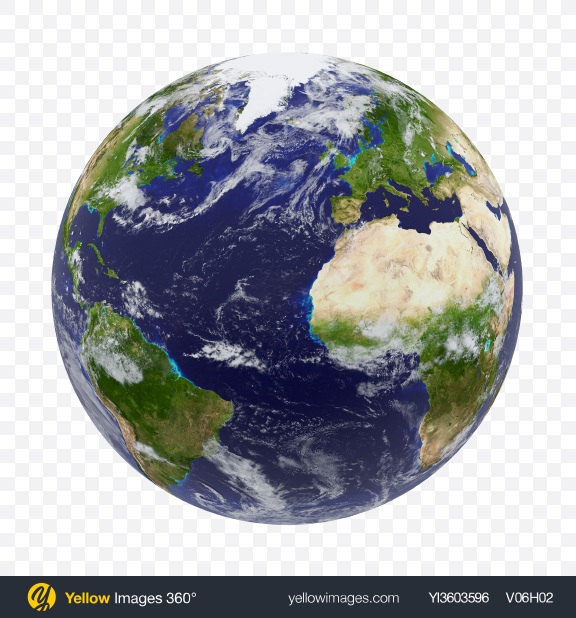 Download Planet Earth Transparent PNG on Yellow Images 360°