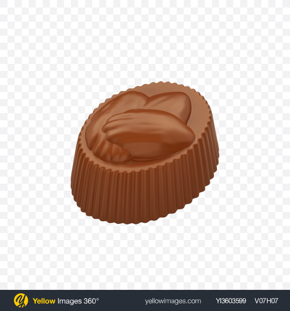 Download Milk Chocolate Candy Transparent PNG on Yellow Images 360°