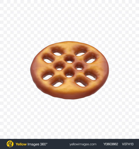 Download Mini Pretzel Transparent PNG on Yellow Images 360°