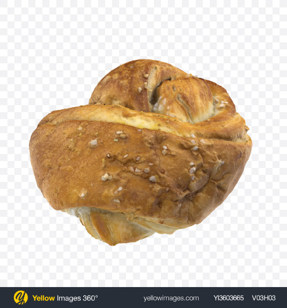 Download Sweet Bread Transparent PNG on Yellow Images 360°