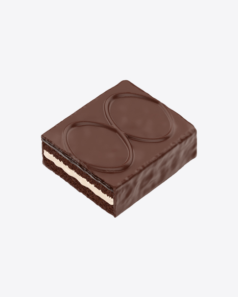 Half of Dark Chocolate Cake Bar