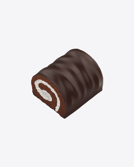 Half of Mini Swiss Roll