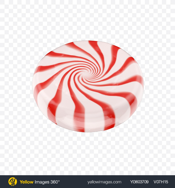 Download Peppermint Candy Transparent PNG on Yellow Images 360°