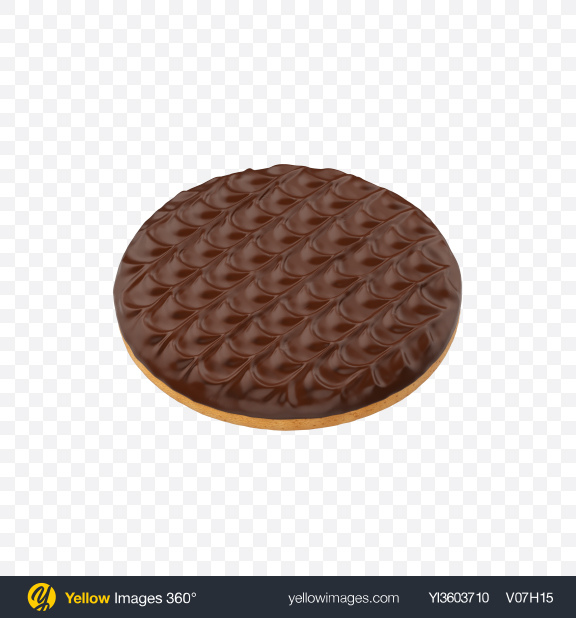 Download Chocolate Coated Cookie Transparent PNG on YELLOW Images