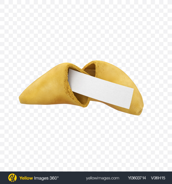 Download Opened Fortune Cookie Transparent PNG on Yellow Images 360°