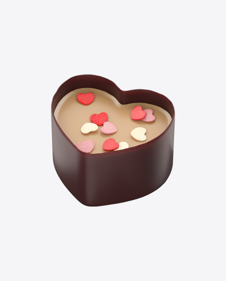 Chocolate Heart Cup