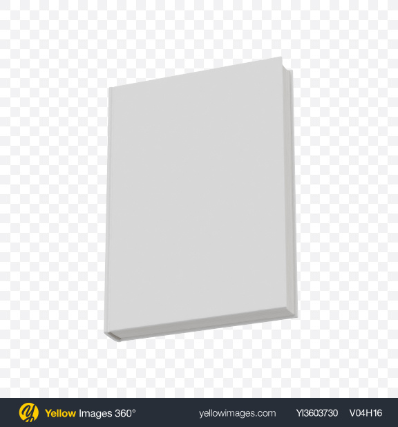Download White Book Transparent PNG on Yellow Images 360°