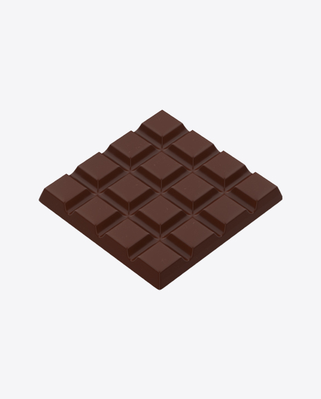 Square Chocolate Bar