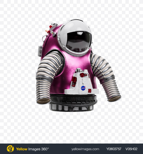 Download Spacesuit Upper Torso Transparent PNG on Yellow Images 360°