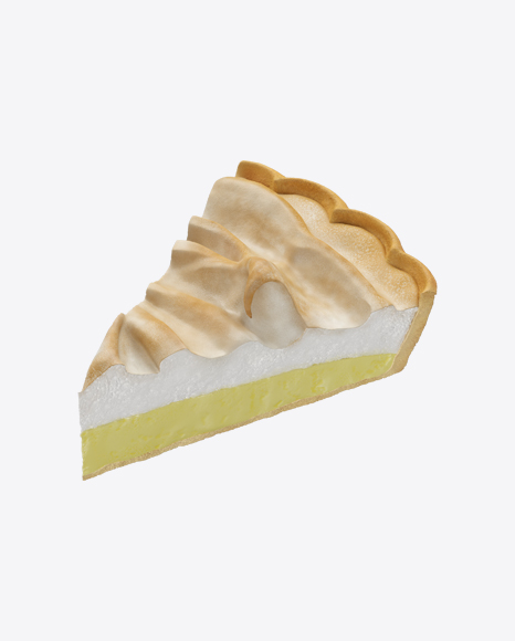 Lemon Pie Slice