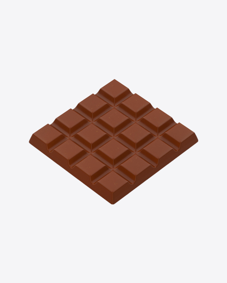Square Milk Chocolate Bar