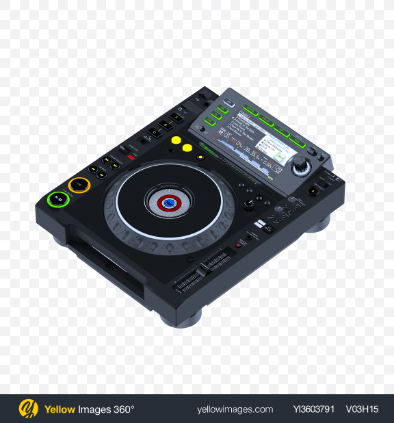Download DJ Controller Transparent PNG on YELLOW Images