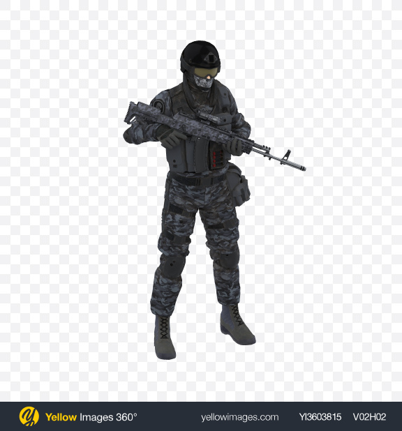 Download Navy Soldier Transparent PNG on Yellow Images 360°
