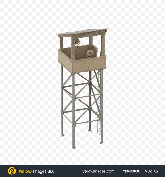 Download Watch Tower Transparent PNG on Yellow Images 360°